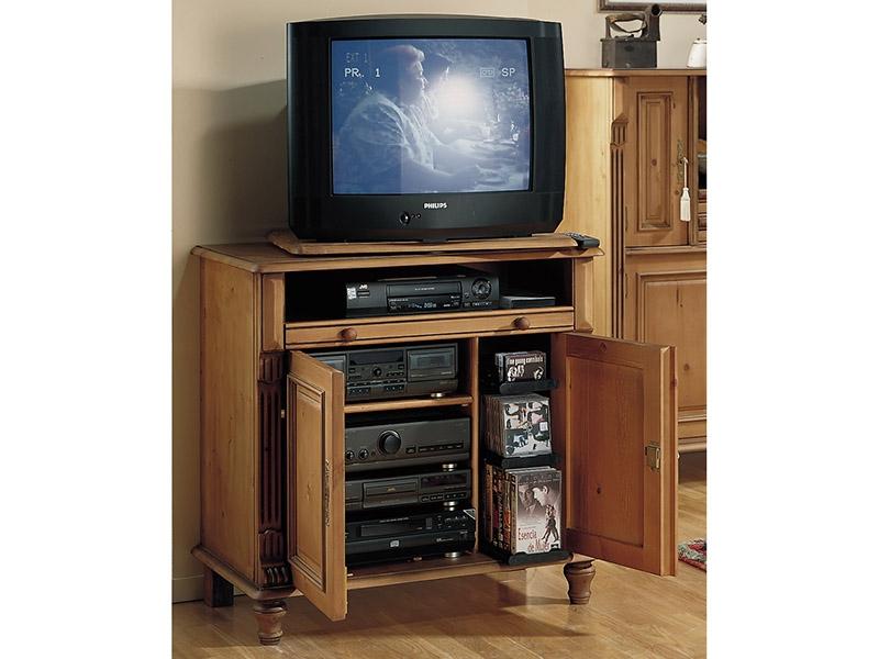 Muebles r sticos anfe muebles for Mueble auxiliar tv